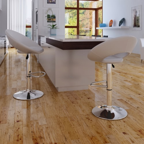 2 x Bar Stool Blanco