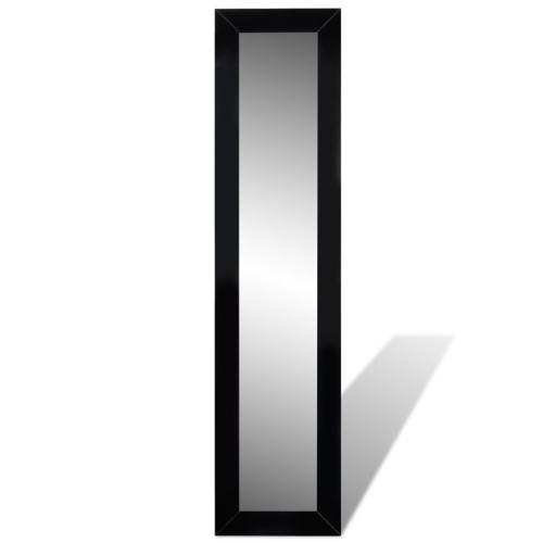 Permanente gratis Espejo de cuerpo entero Negro