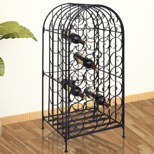 Metal Cabinet for 35 Bottles of Wine