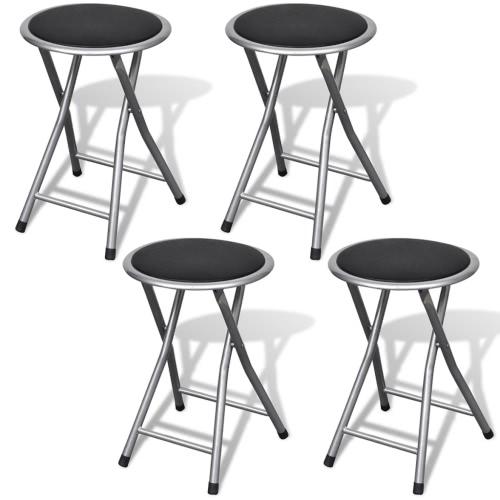 sillas plegables (4 piezas)