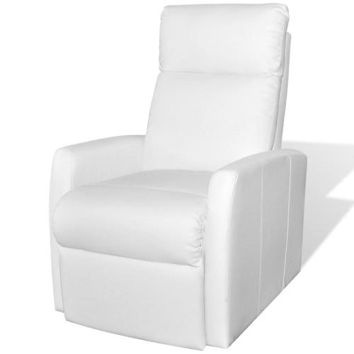 2-Posición de televisión eléctrica reclinable Ascensor Silla Blanca