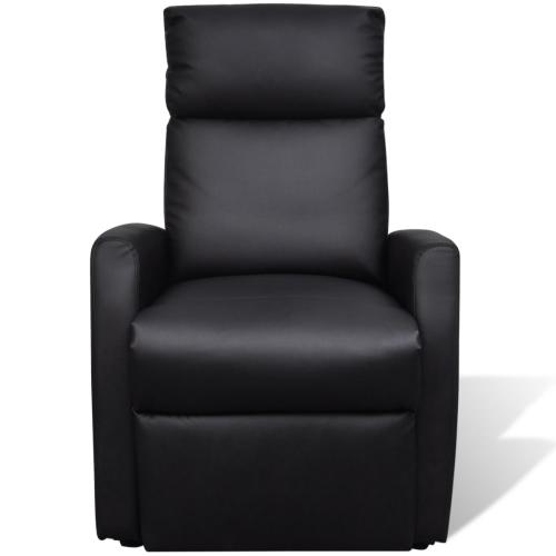 2-Posición de televisión eléctrica reclinable telesilla Negro