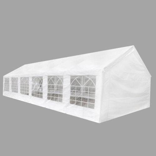 white party tent 40' x 20'