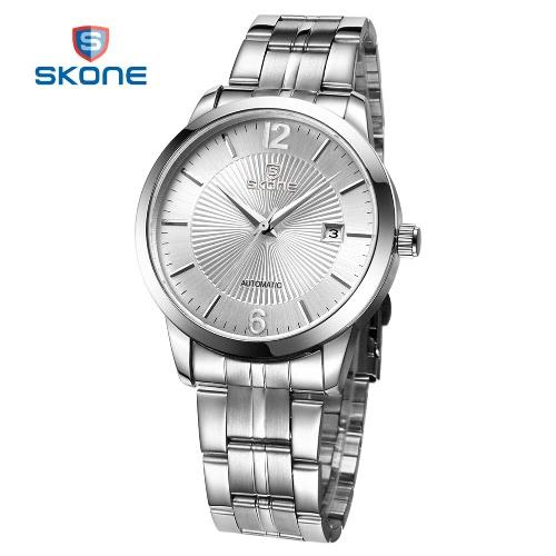 SKONE Casual Fashion Men's Watches Men Luxury Brand Auto Self Mechanical Watch for Man
