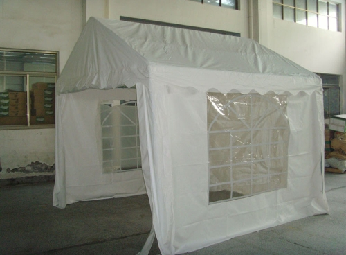 3x3m matrimonio all'aperto partito tenda tubo 38mm bianco