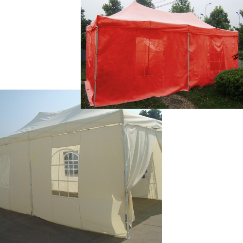 Folding Tent ECO Series Polyester Fibre 180g/㎡Red 3 * 6m от Tomtop.com INT