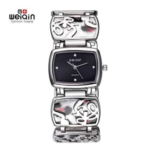 WEIQIN Brand Luxury Crystal Women Quartz Watch Fashion Bracelet Analog Casual Lady's Wristwatch Feminino with Box