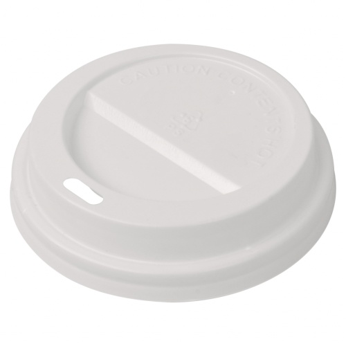 Deckel für Einwegkaffeetassen 1000 Stück Kunststoff 80 mm