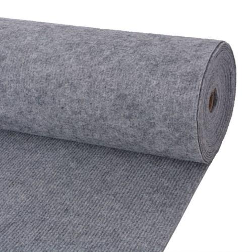 Экспозиция Ребристый коврик 2x10 м Серый
