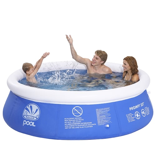 Inflatable Marin Pool Set Round 240 x 63 cm