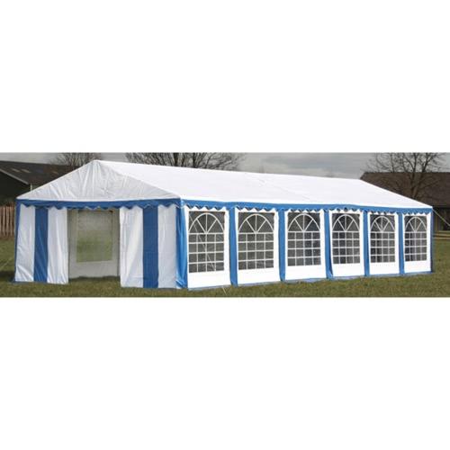 Remplacement côtés bâche de toit Marquee Tente 12 x 6m Bleu & Blanc