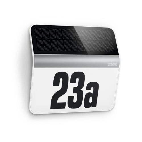 Steinel XSolar LH-N House Number LED Light Stainless Steel