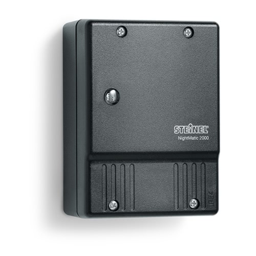 Steinel Photoelectric Lighting Controller NightMatic 2000 Black