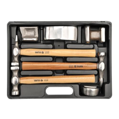 Yato Karosserie-Ausbeulset Ausbeulhammer Ausbeulwerkzeug