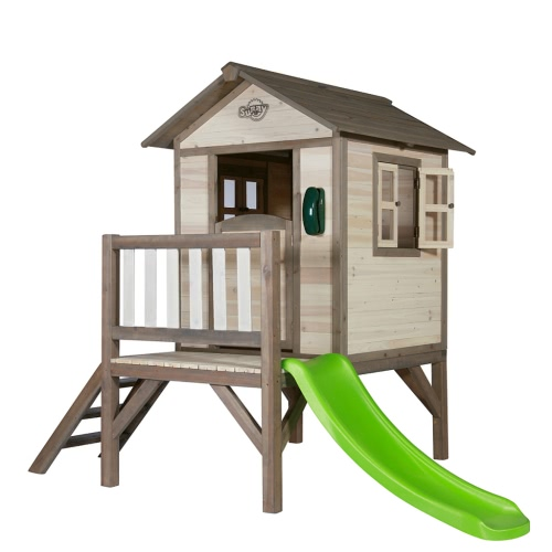 SUNNY Children Playhouse Lodge XL with a Slide