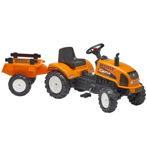 FALK Renault Celtis 436Rx Traktor mit Anhänger Orange 2/5
