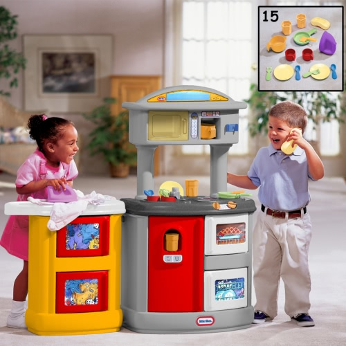 Little Tikes Double up Kitchen & Laundry Centre