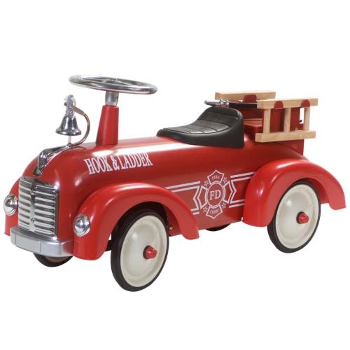 RETRO ROLLER Speedster Sam Kinderauto Feuerwehrauto Rutscher