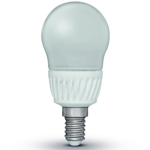 Luxform Set of 4 LED Light Bulbs Pear-Shaped E14 230V 5W G45 (EWW)