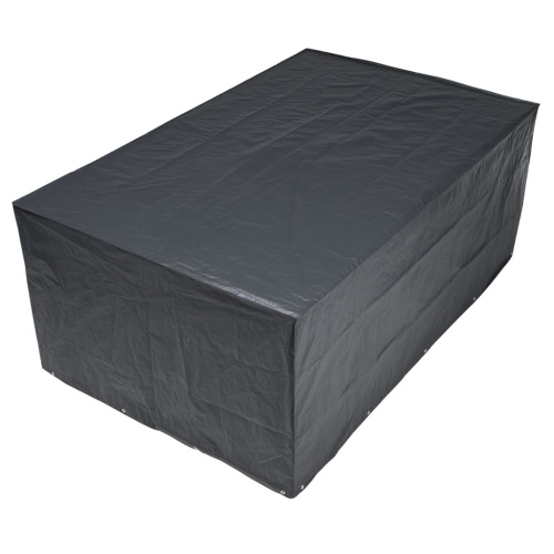 Nature Garden Furniture Cover 90 x 225 x 143 cm PE Dark Grey 6030602