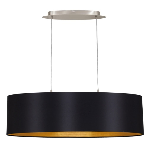 EGLO Pendant Lamp Maserlo 78 cm Black 31611