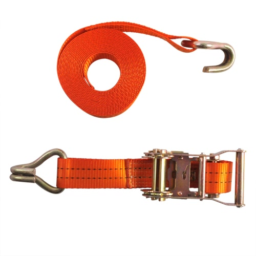 ProPlus Tie Down Strap with Ratchet + 2 Hooks 7 m 2000 kg 320256