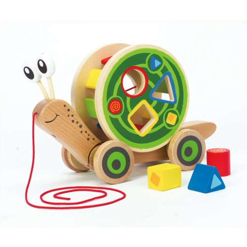 Hape Walk-A-Long Snail E0349