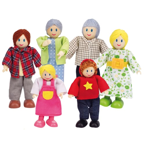 Hape Happy Family Dolls - Caucasian E3500