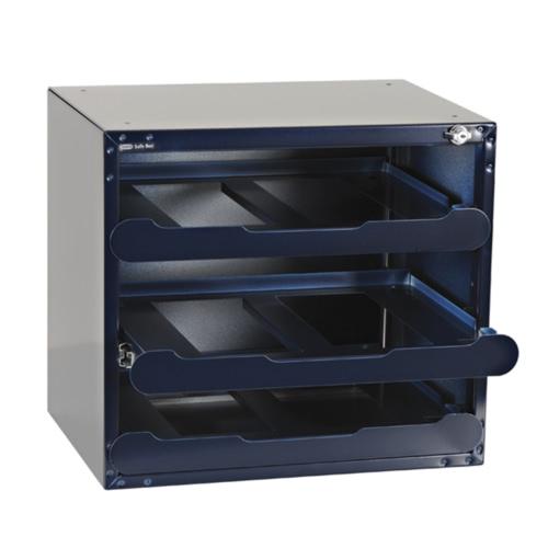Raaco Safe Box Tresor für 3 CarryLite 80 Sortimentskoffer Leer 139335