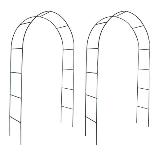 2x ogród różany arch brama krata wzrosła kolumnę