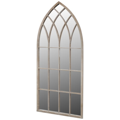 Gothic Arch Garden Mirror 115x50cm for Both Indoor and Outdoor Use