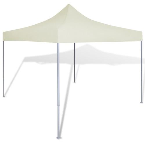 Namiot Zadaszenie składana 3 x 3 m Cream