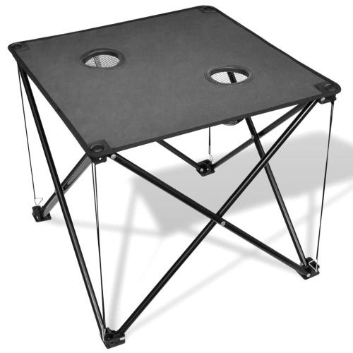 tavolo grigio campeggio pieghevole