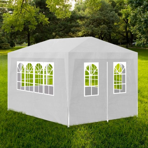 White Party Tent with 4 Walls 3 x 4 m