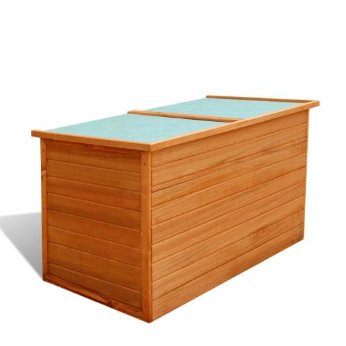 Garden Wooden Storage Box Waterproof