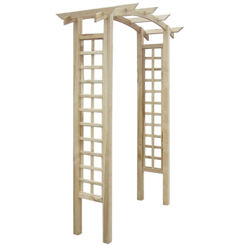 Rankgitter 150 x 50 x 220 cm Holz