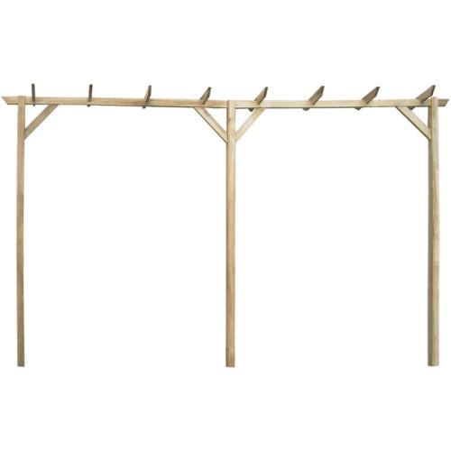 Ogród Pergola cm Drewno 400 x 40 x 205