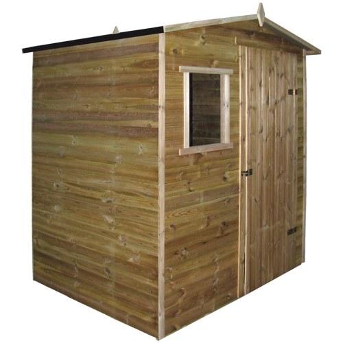 cabina casa giardino pergolato pino impregnato 1,5x2 m
