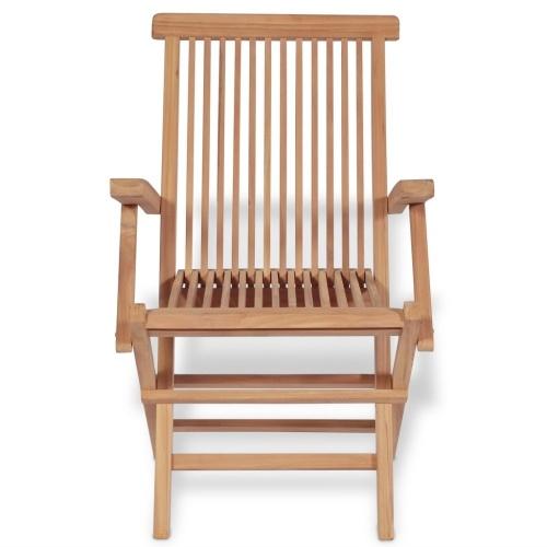 sedie da giardino 2 stk teak 55x60x89 cm