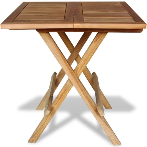 Garden table bistro table teak 60x60x65 cm