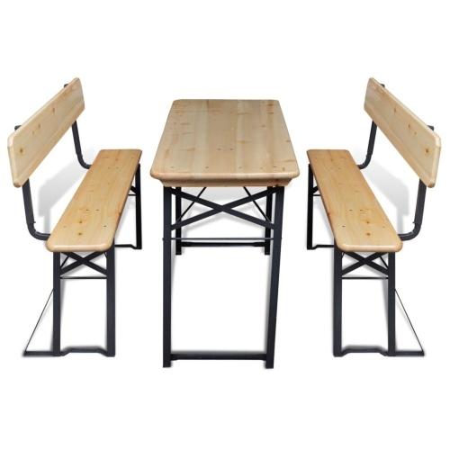 Пивная палатка с столом и 2 скамьями 118 см ель Складная