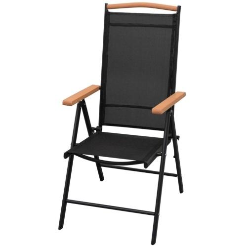 Садовый столовый набор 5 шт. Алюминиевый WPC