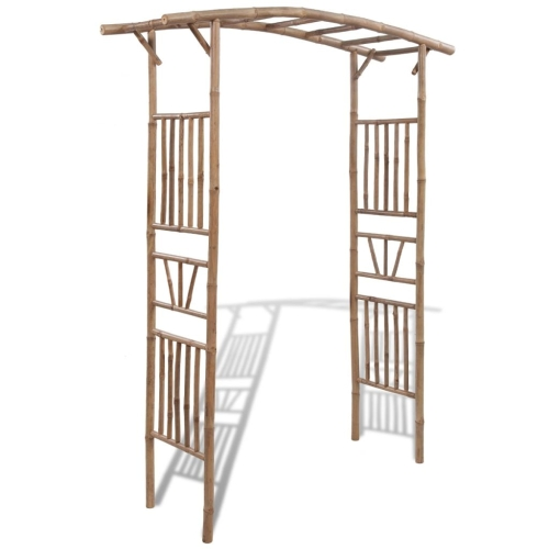 Rose Arch Bamboo 145x40x187 cm