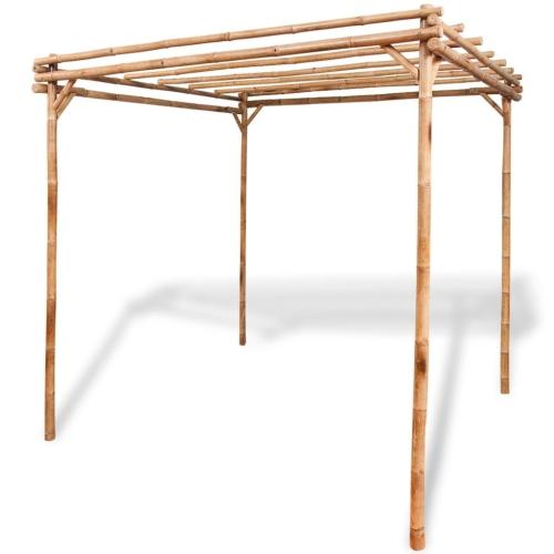 Pérgola Bamboo 195x195x195 cm