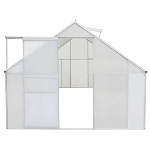 Парниковый поликарбонат и алюминий 490 × 250 × 195 см