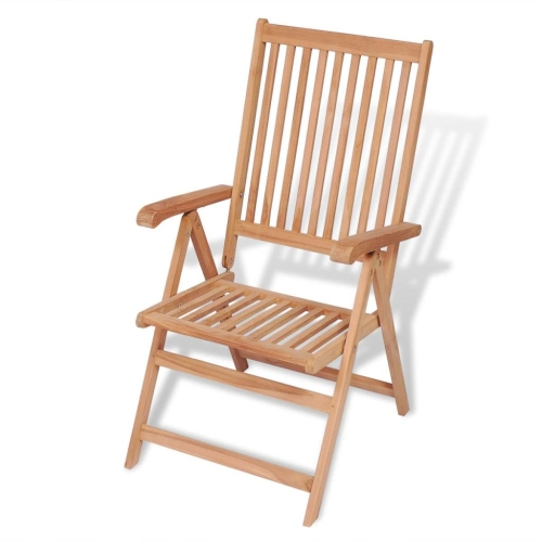 Reclining Garden Chair Teak