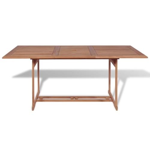 Садовый столовый набор 7 шт. тик