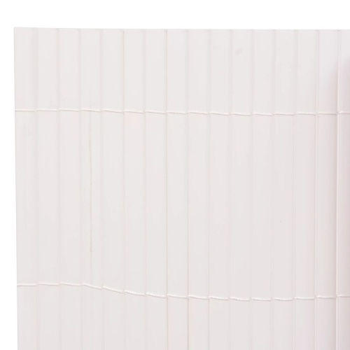 Garden fence double-sided 195 กม 300 cm white