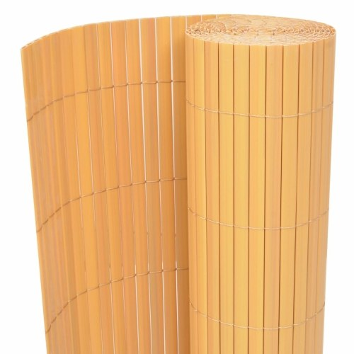 Garden fence double-sided 195 กม 500 cm yellow