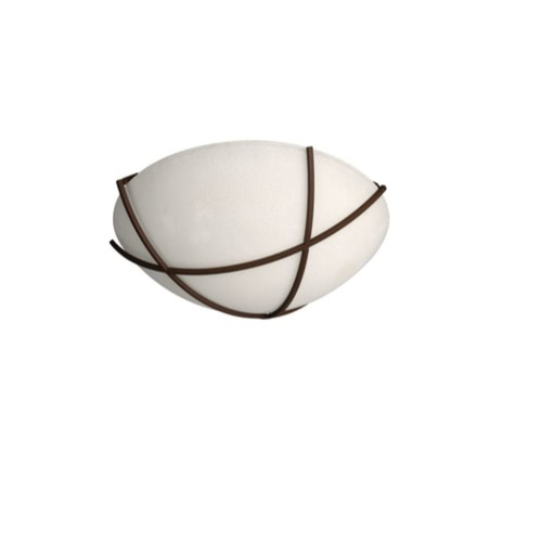 Massive COLLEEN Ceiling Lamp Rust 1 x 60 W 230 V